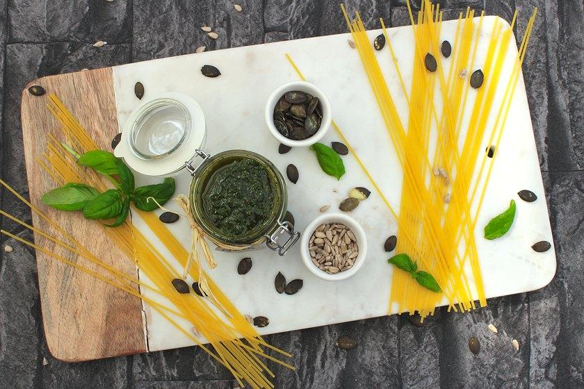Karottengrün Pesto Rezept