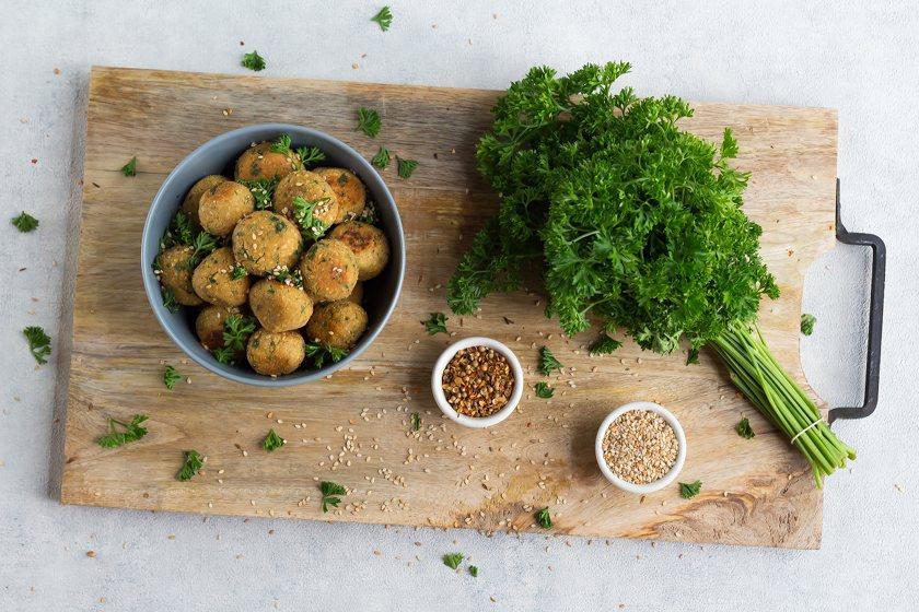 falafel vegan selbst gemacht