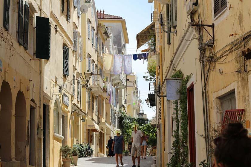 Korfu Stadt - Ausflugstipps Korfu