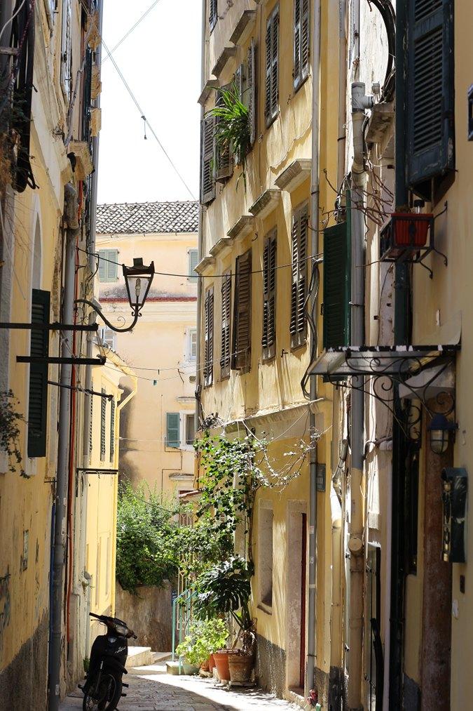 Korfu Stadt - Reisetipps Korfu