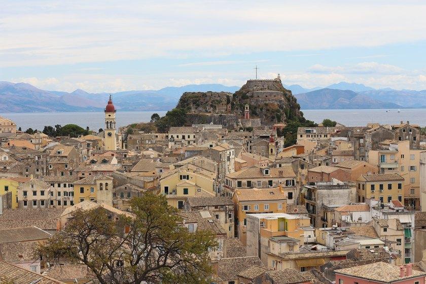 Korfu Stadt - Reisebericht Korfu
