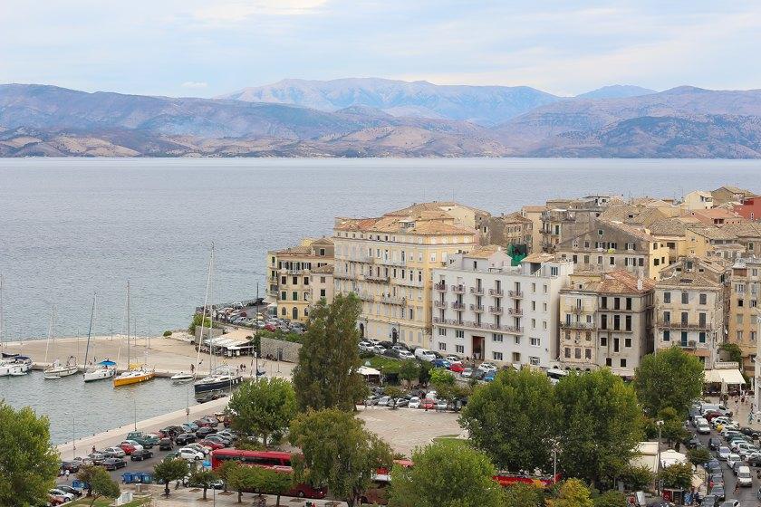 Ausflug Korfu Stadt - Reisebericht Korfu