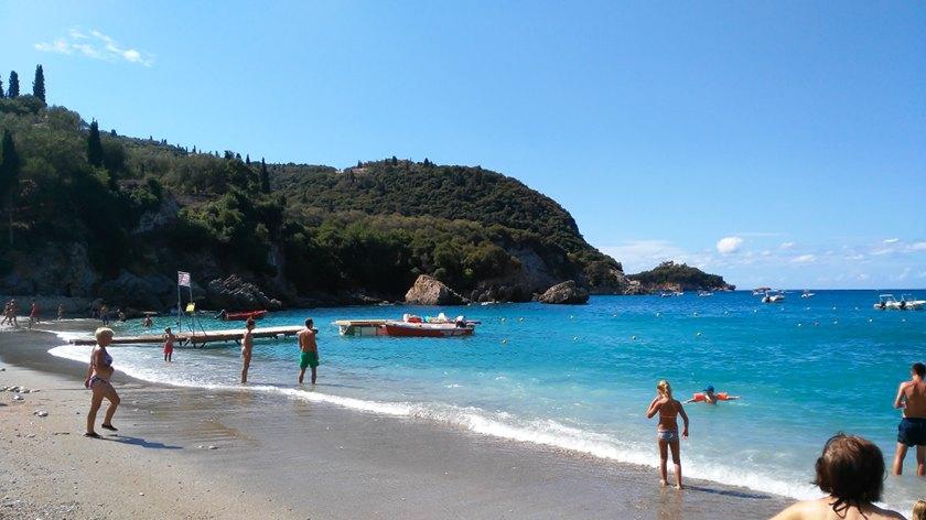 Ausflugstipp Korfu - Strand von Liapades