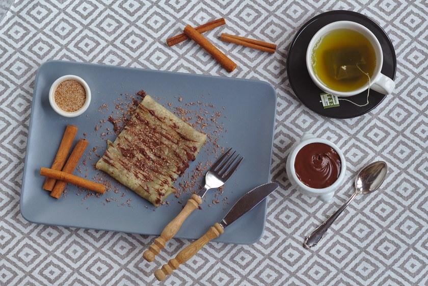 Glutenfreie und vegane Crepes Rezept