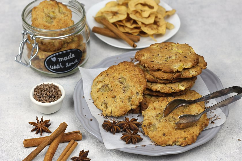 Vollkorn Cookies vegan
