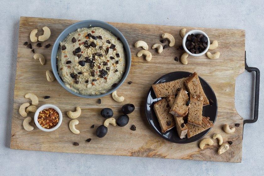 Vegane Oliven- Käsecreme selbst gemacht
