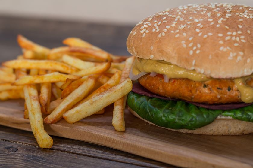 Tofu Burgerpatty vegan Rezept