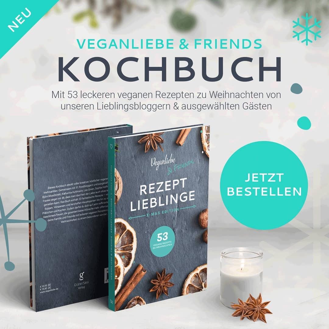 Veganliebe & Friends Kochbuch