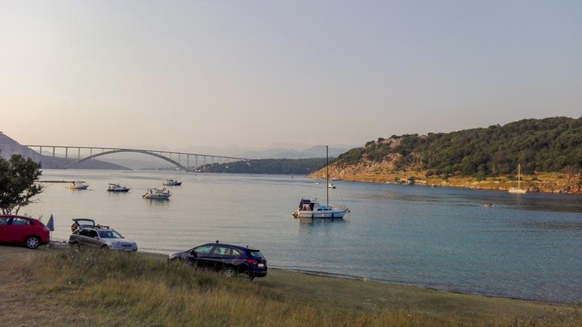 Reisebericht Kroatien - campen auf Krk