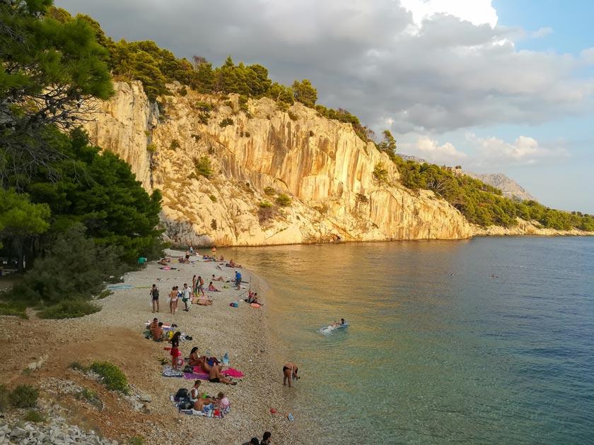 Nugal Beach Makarska - Reisebericht Kroatien