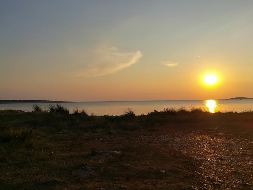 Sonnenuntergang Insel Pag