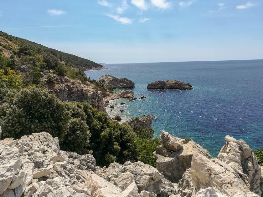 Aussicht am Sveta Ivan - Reisebericht Kroatien