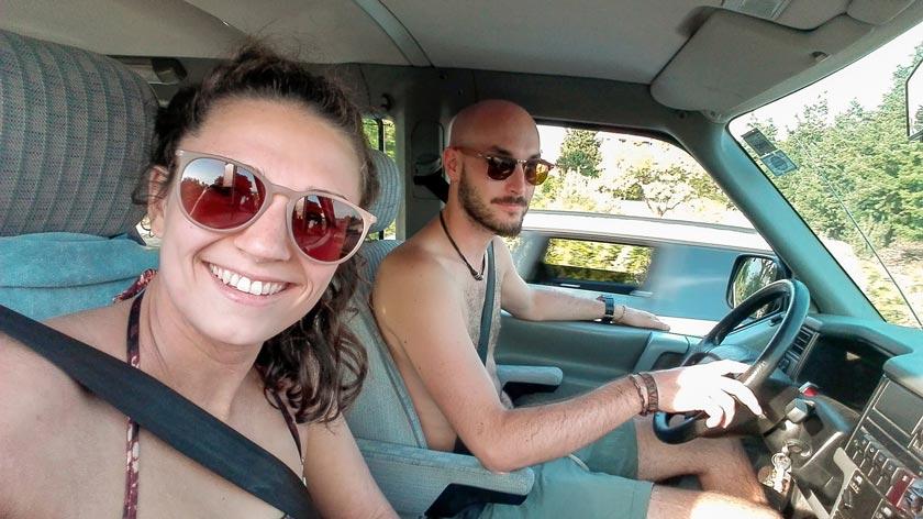 Mit dem Bulli unterwegs auf den Inseln von Kroatien