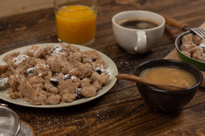 glutenfreier und veganer Kaiserschmarrn Rezept