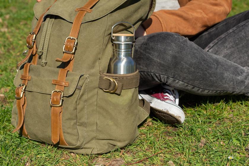 nachhaltige Edelstahlflasche Kivanta