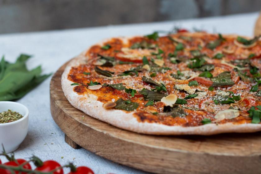 Bärlauch Rezept: Pizza mit frischem Barlach