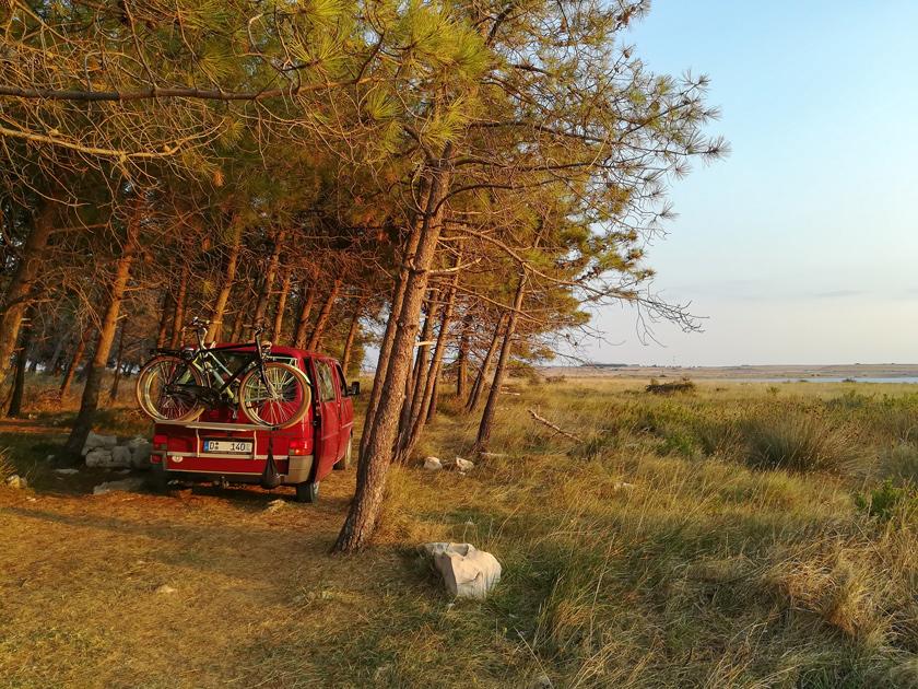 Camping in Kroatien mitten in der Natur