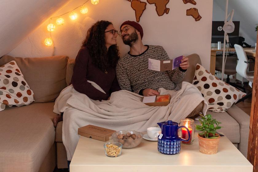 Nachhaltiger Adventskalender Paarzeit