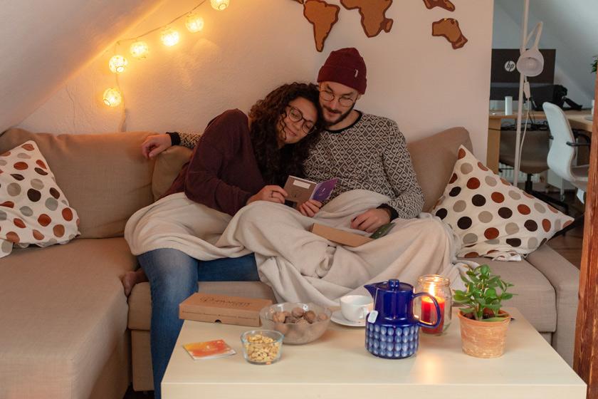 Veganer Adventskalender für Paare