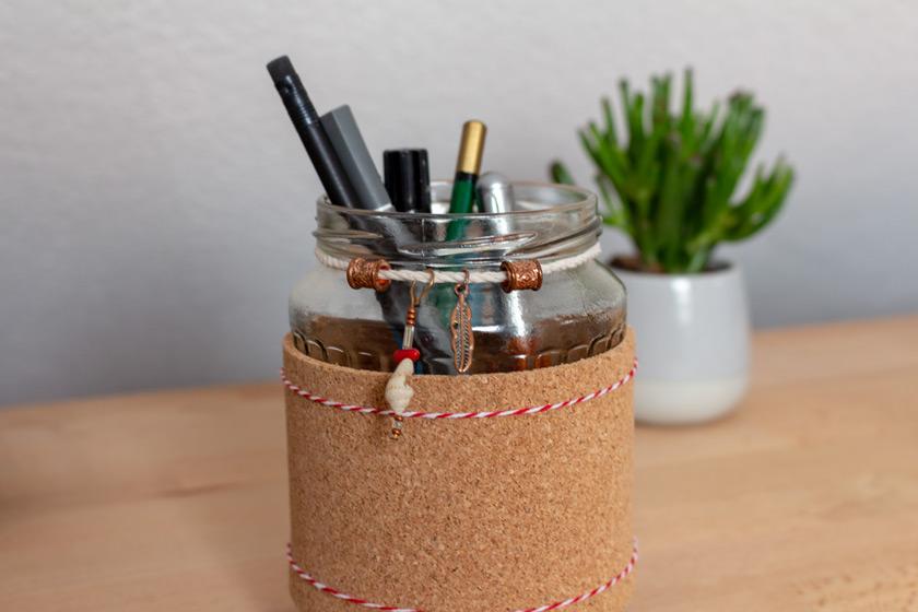 DIY Stiftehalter selbst machen - purelimon