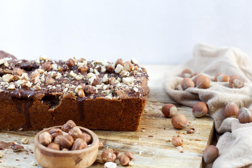 Haselnusskuchen Rezept vegan - purelimon