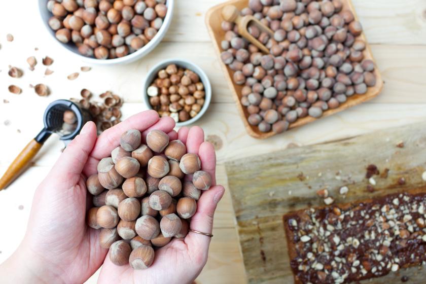 nachhaltig angebaute Haselnüsse - purelimon