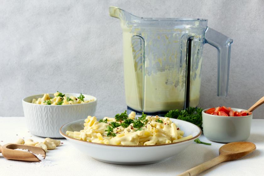 vegane Käsealternative mit dem Vitamix - purelimon