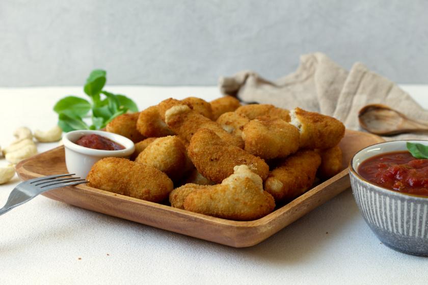 vegane Mozzarellasticks selbst gemacht - purelimon