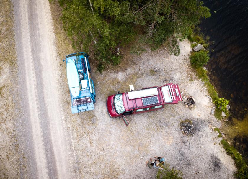 Mit dem Bulli in Schweden - Reisebericht - purelimon