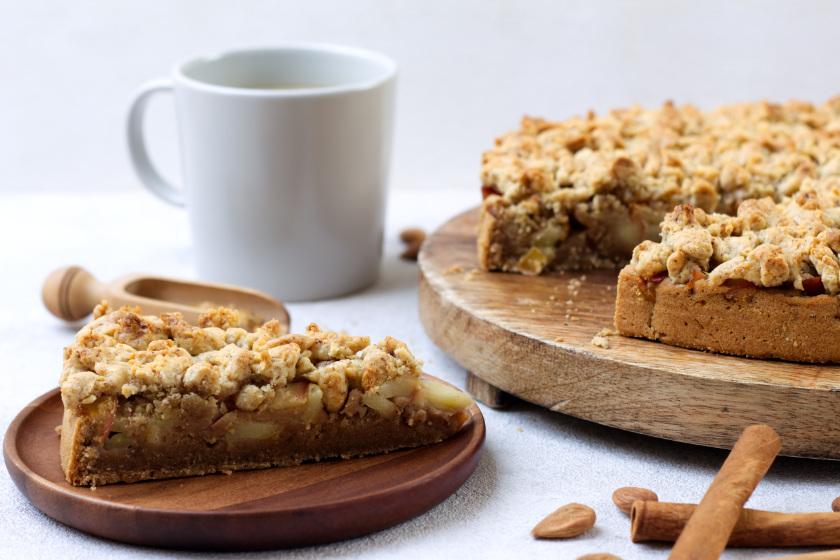 Rezept für veganen Apfelkuchen - purelimon