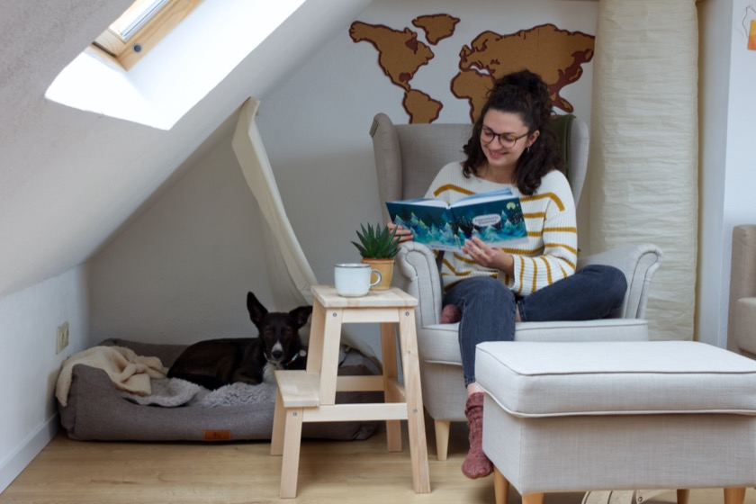 Schnauzberts Winterreise - Adventskalender mit Hund
